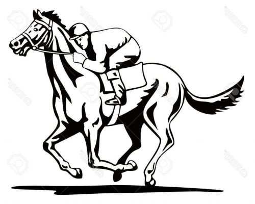 small resolution of 1024x821 unique horse and jockey stock vector racing images