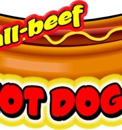 1200x702 clip art hot dogs sign clipart [ 1200 x 702 Pixel ]
