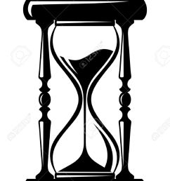 866x1300 hourglass clipart black and white [ 866 x 1300 Pixel ]