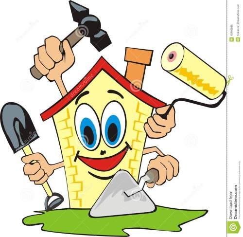 small resolution of 1332x1300 clip art house repair clipart