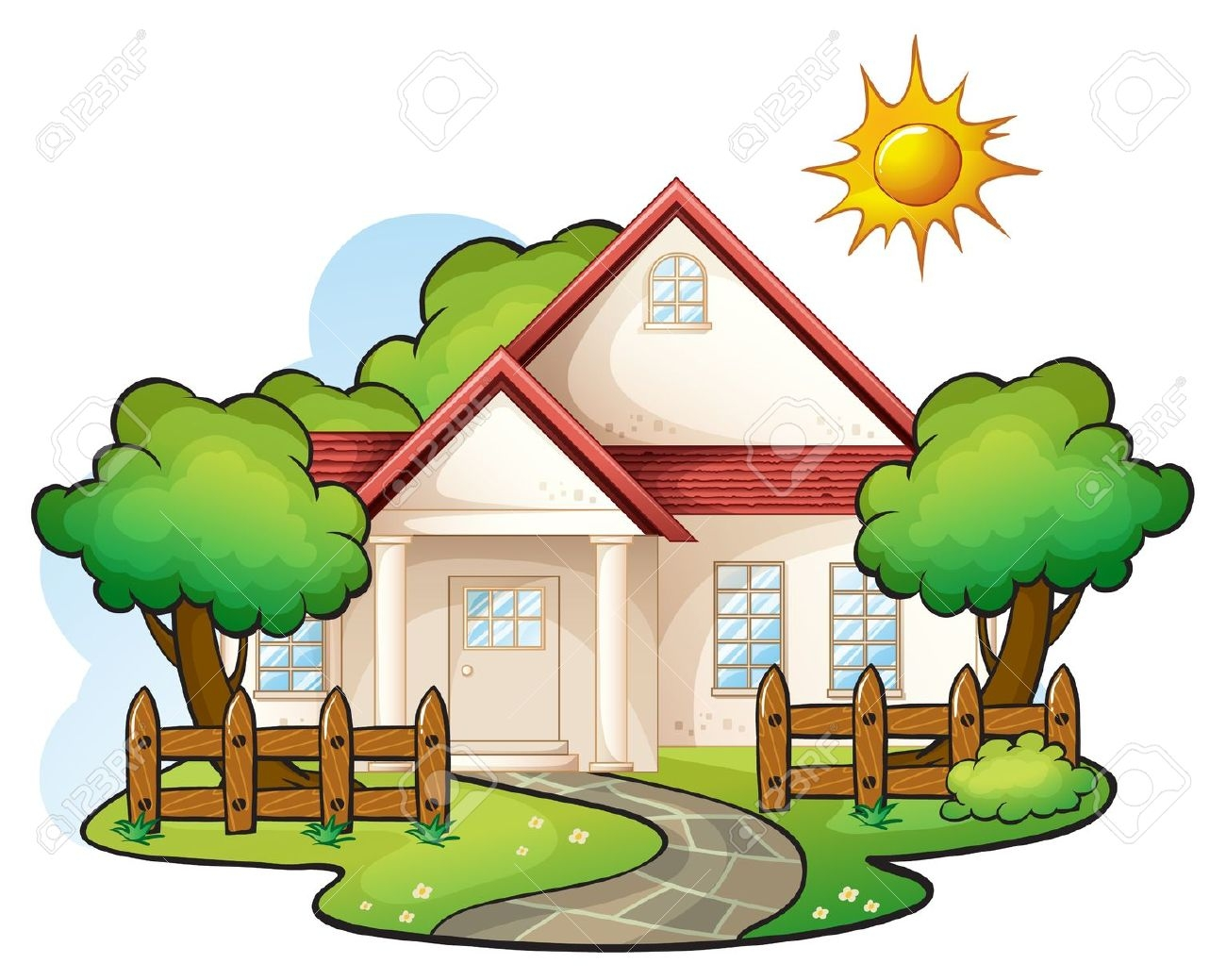 hight resolution of 1300x1039 house clipart amp look at house clip art images