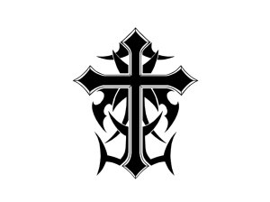 cross cool crosses draw designs tribal drawings background tattoo tattoos clipart wallpapers drawn clipartmag clip wallpapercave