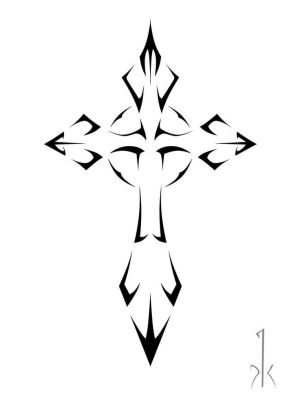 crosses cool draw tattoo templates clipartmag