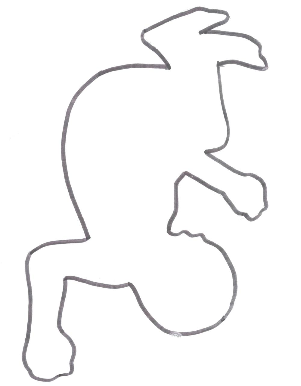 medium resolution of 2100x2695 human body diagram outline chalk image images free drawing outline