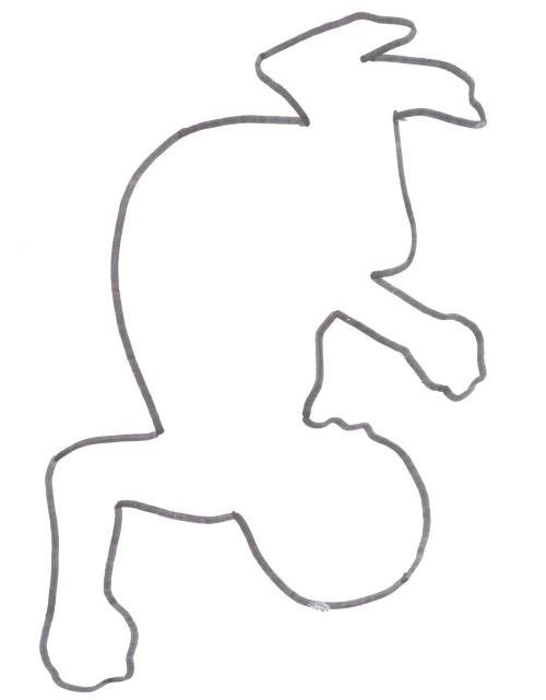 small resolution of 2100x2695 human body diagram outline chalk image images free drawing outline