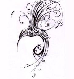 1600x1200 scrolled hummingbird tatoo hummingbird drawings tattoos art i [ 1600 x 1200 Pixel ]