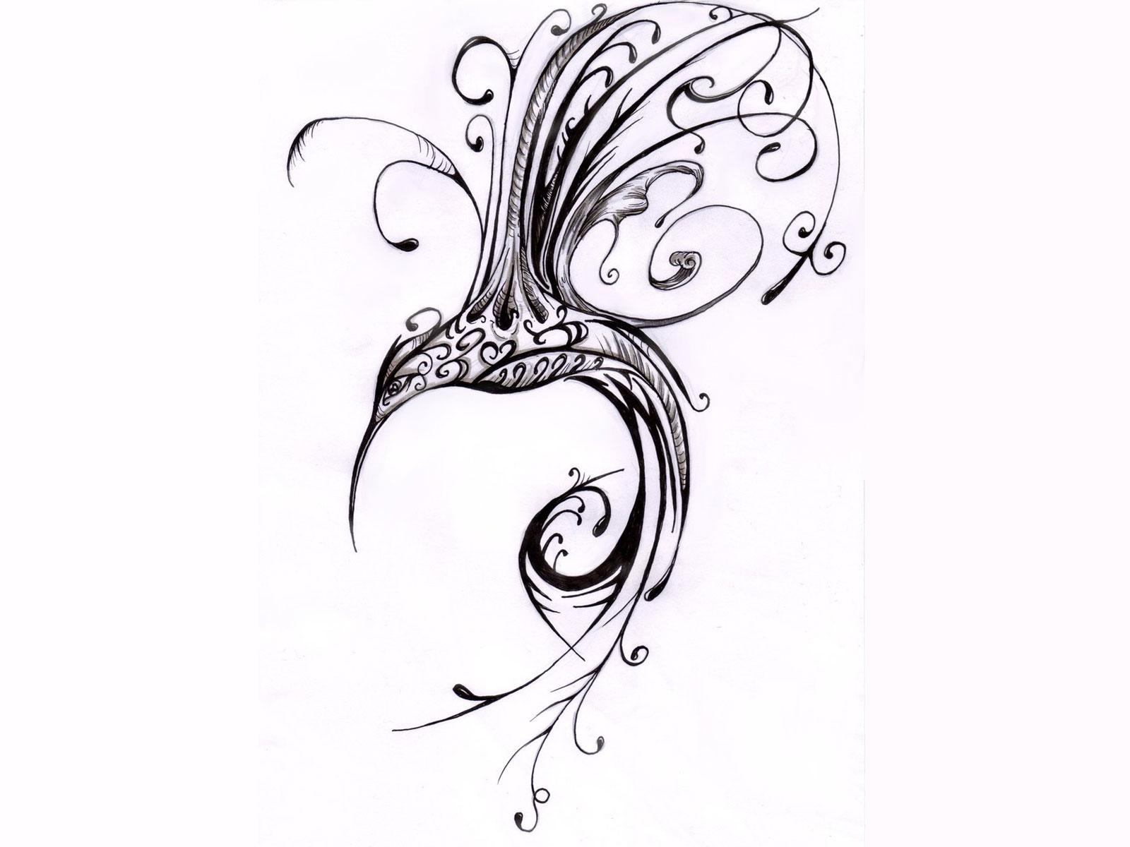hight resolution of 1600x1200 scrolled hummingbird tatoo hummingbird drawings tattoos art i