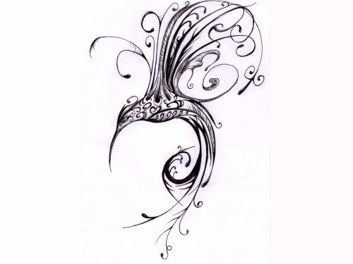 small resolution of 1600x1200 scrolled hummingbird tatoo hummingbird drawings tattoos art i