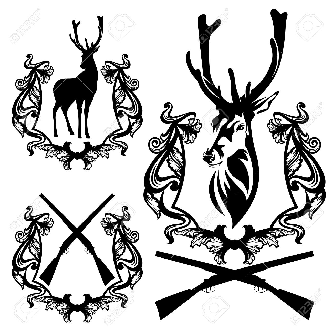 hight resolution of 1300x1288 free clipart images deer hunter in tree