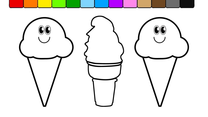 ice cream coloring pages  free download on clipartmag