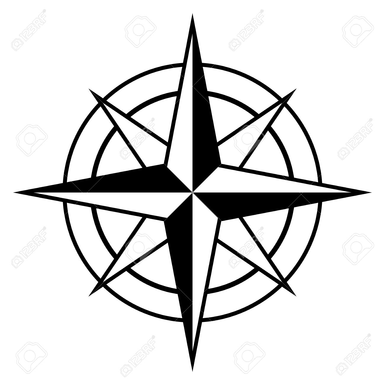 Images Compass Rose Clipart