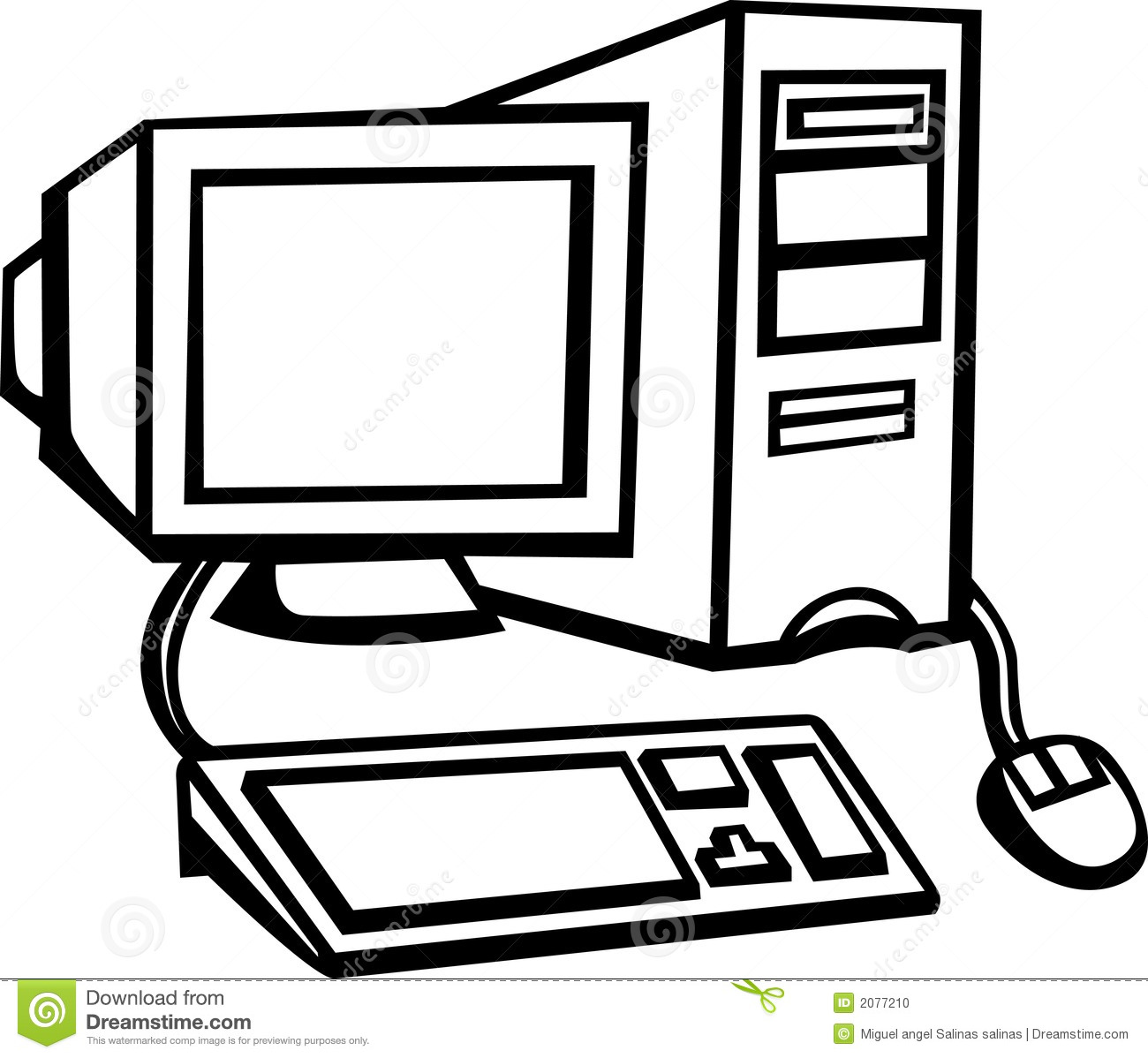 Images Of Computer Monitor Clipart