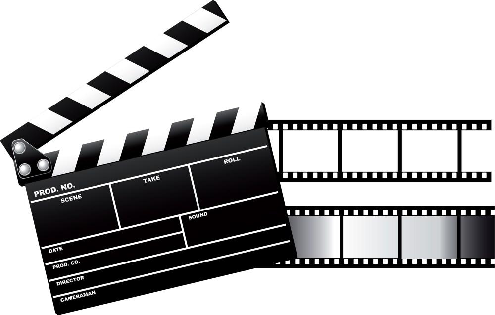 medium resolution of 2000x1272 free movie clipart image