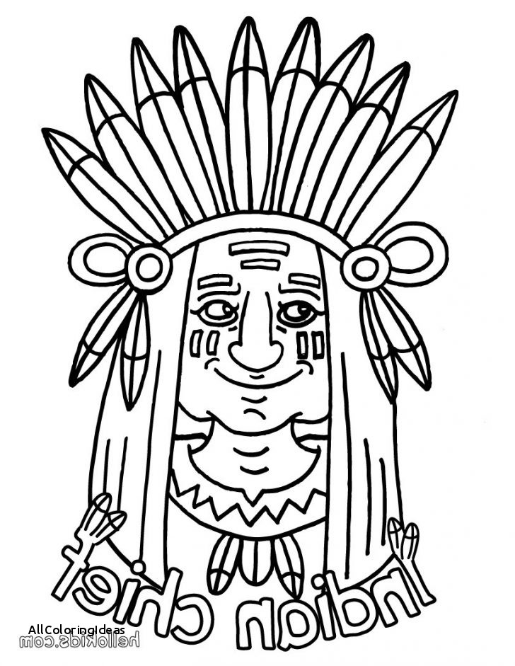 Indian Coloring Pages In Tent