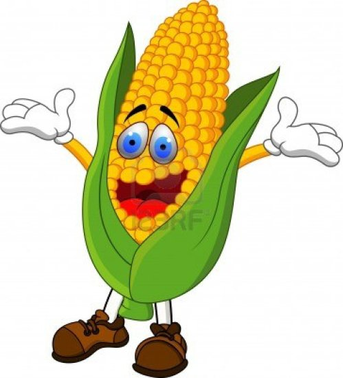 small resolution of 1092x1200 funny corn clipart