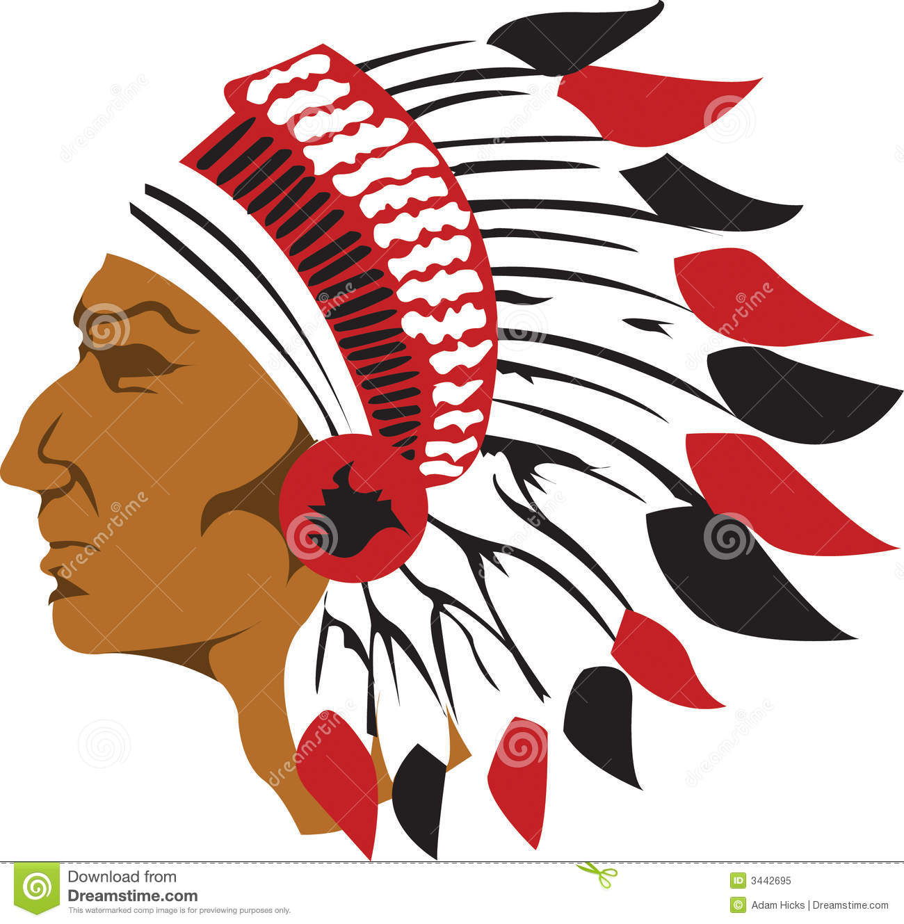 hight resolution of 1300x1329 indians clipart chief