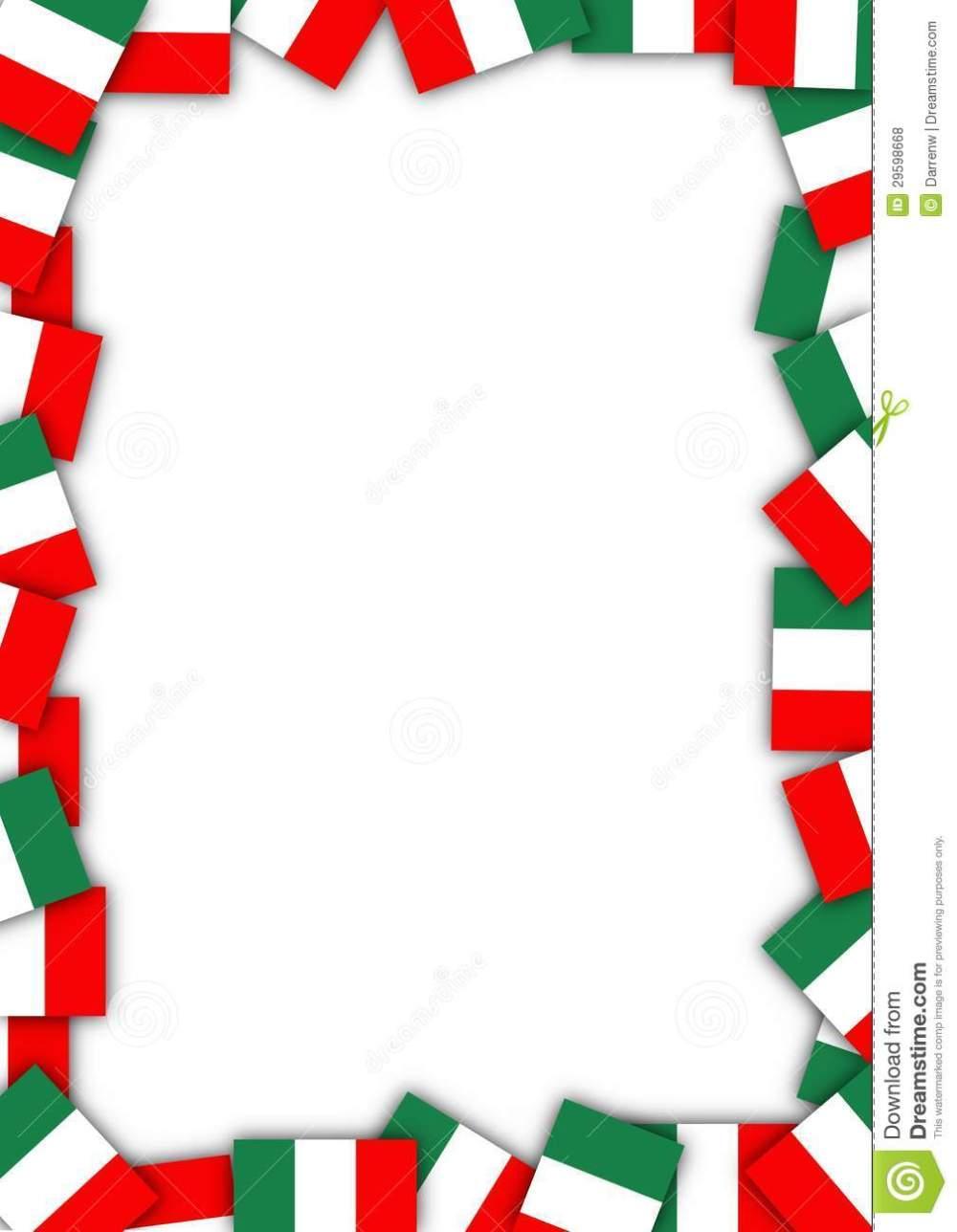 medium resolution of 1009x1300 italian border clipart