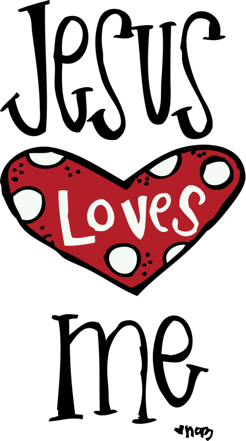 small resolution of 893x1600 jesus loves me clipart