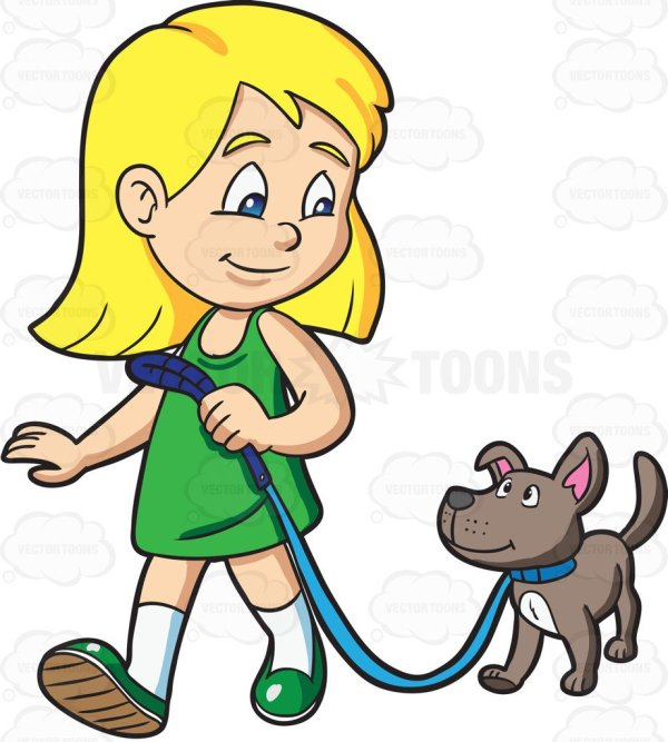 kid walking clipart free