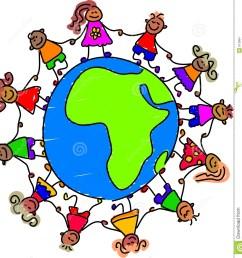 1316x1300 around child clipart world [ 1316 x 1300 Pixel ]
