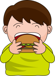 eating clipart healthy lunch cliparts devour clip burger owl pizza clipartmag clipground library learning english