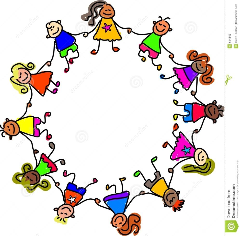 medium resolution of 1327x1300 children holding hands clipart