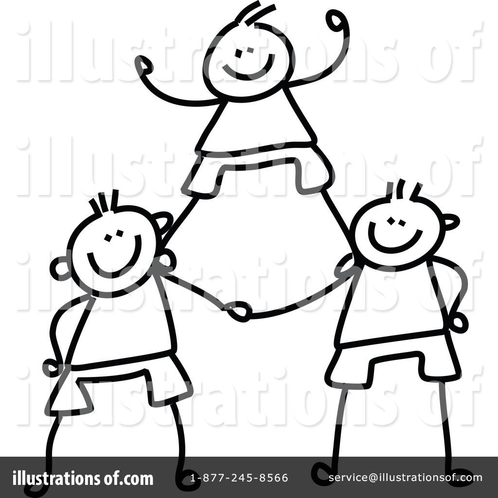 Kids Teamwork Clipart