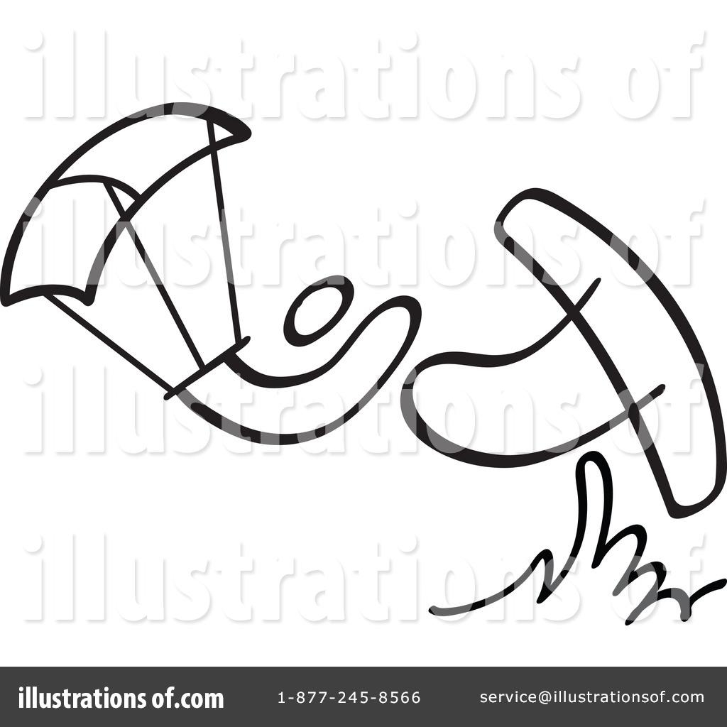 Kite Black And White Clipart