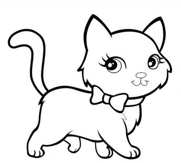 coloring pages kittens # 15