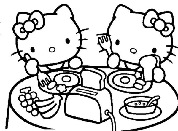 hello kitty coloring pages that you can print # 79