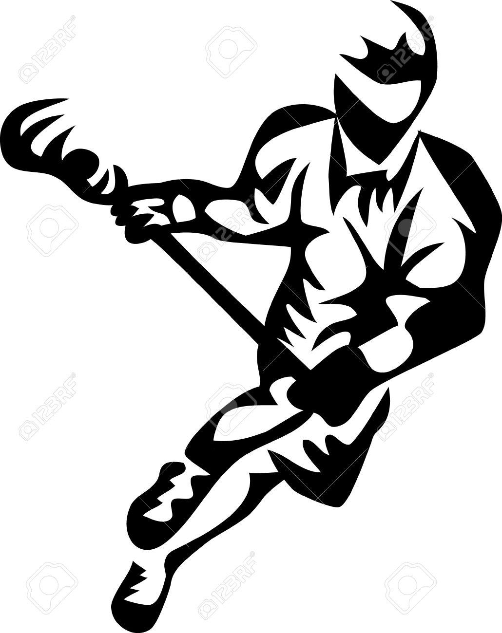 Lacrosse Sticks Clipart