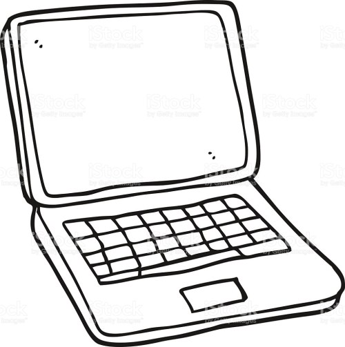 small resolution of 1017x1024 black laptop clipart explore pictures