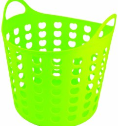 1324x1500 elliott s funky cleaning plastic laundry basket green amazon co [ 1324 x 1500 Pixel ]