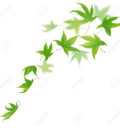1300x1300 green clipart falling leaves [ 1300 x 1300 Pixel ]