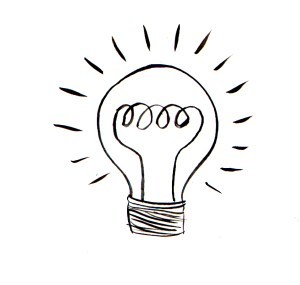 bulb drawing lamp drawn lightbulb illustration clipart landscape clipartmag