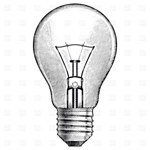 bulb drawing clipart clipartmag