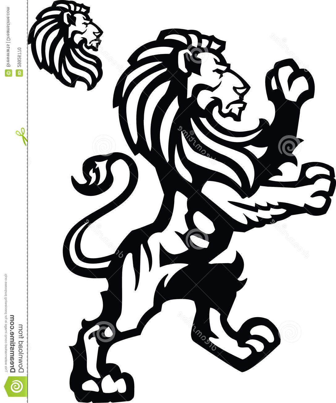 hight resolution of 1086x1300 top 10 vector lion rampant sports mascot heraldic themed imagery cdr