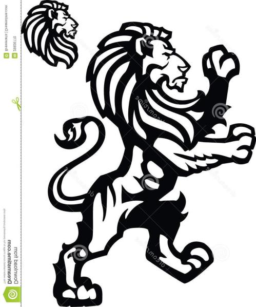small resolution of 1086x1300 top 10 vector lion rampant sports mascot heraldic themed imagery cdr