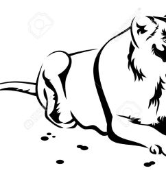 1300x736 lioness clipart black and white [ 1300 x 736 Pixel ]
