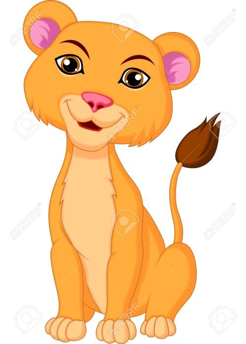 small resolution of 930x1300 lioness clipart loin