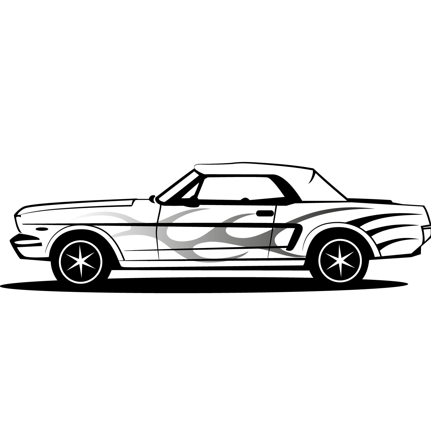 Logo Ford Mustang Clipart