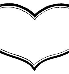 1283x862 heart shaped clipart heart outline [ 1283 x 862 Pixel ]