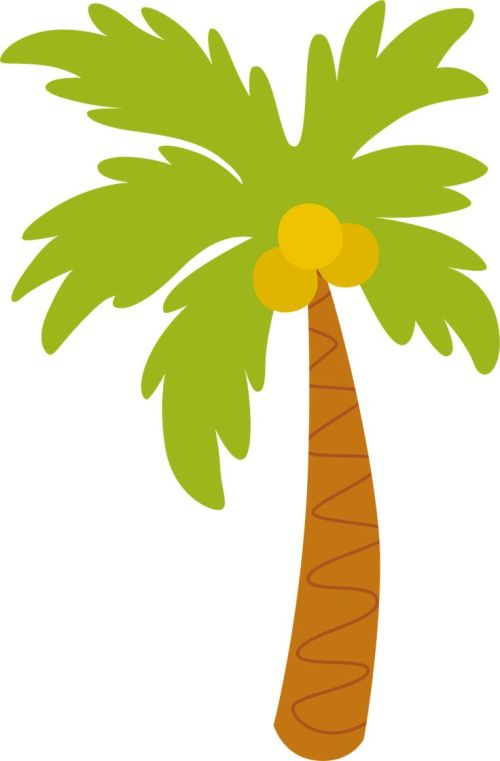 small resolution of 736x1121 best palm tree clip art ideas palm tree images