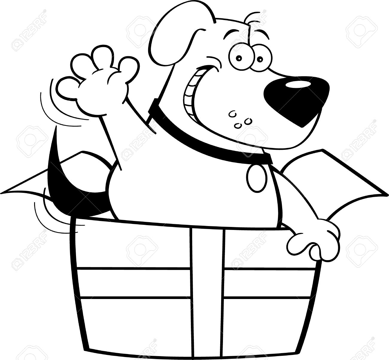 Lunch Box Clipart Black And White