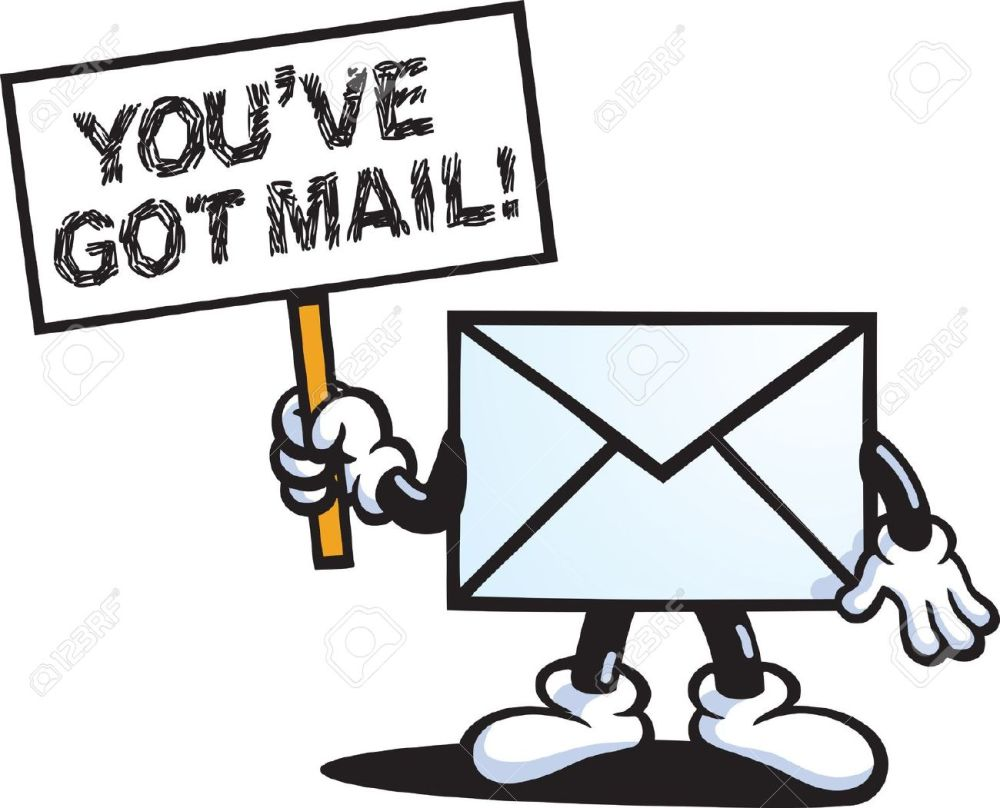 medium resolution of 1300x1051 message clipart animated email