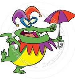 940x940 cartoon mardi gras gator by ron leishman toon vectors eps [ 940 x 940 Pixel ]