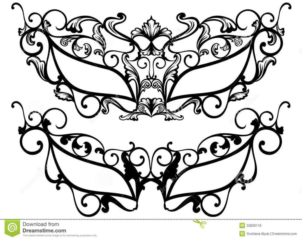 medium resolution of 1300x1034 masquerade clipart mascara
