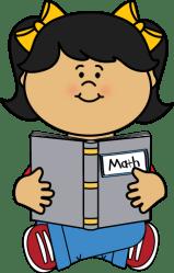 math clipart clip reading kid clipartmag