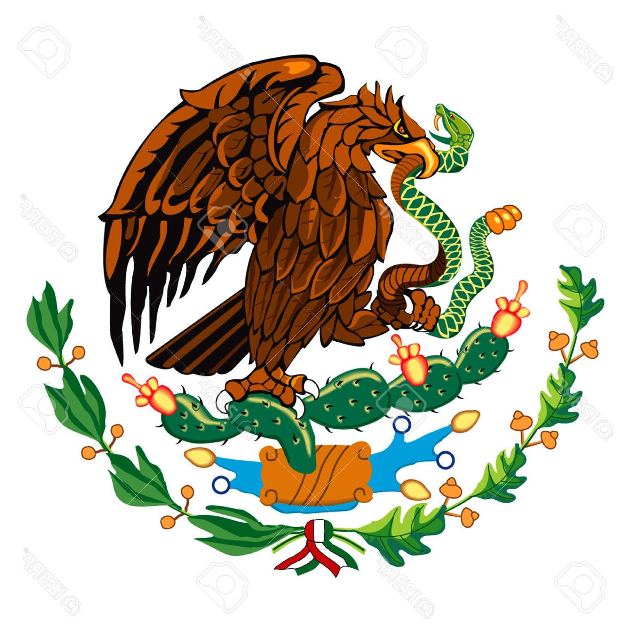 Mexican Eagle Tribal Clipart