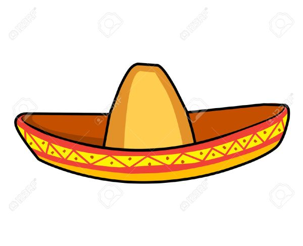 Mexican Sombrero Hat Clipart Free